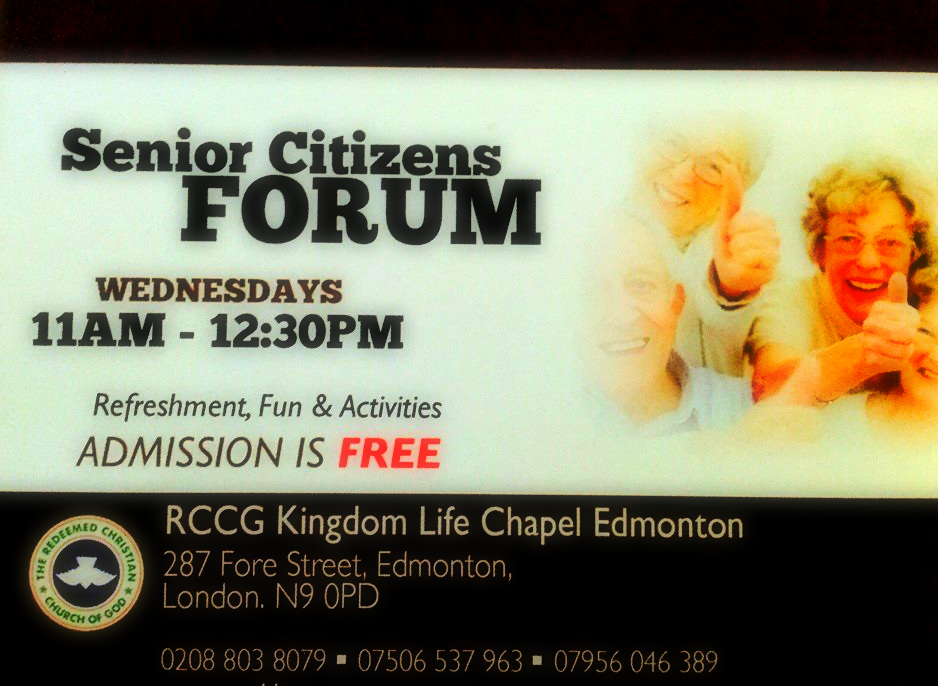 Senior Citizens Forum