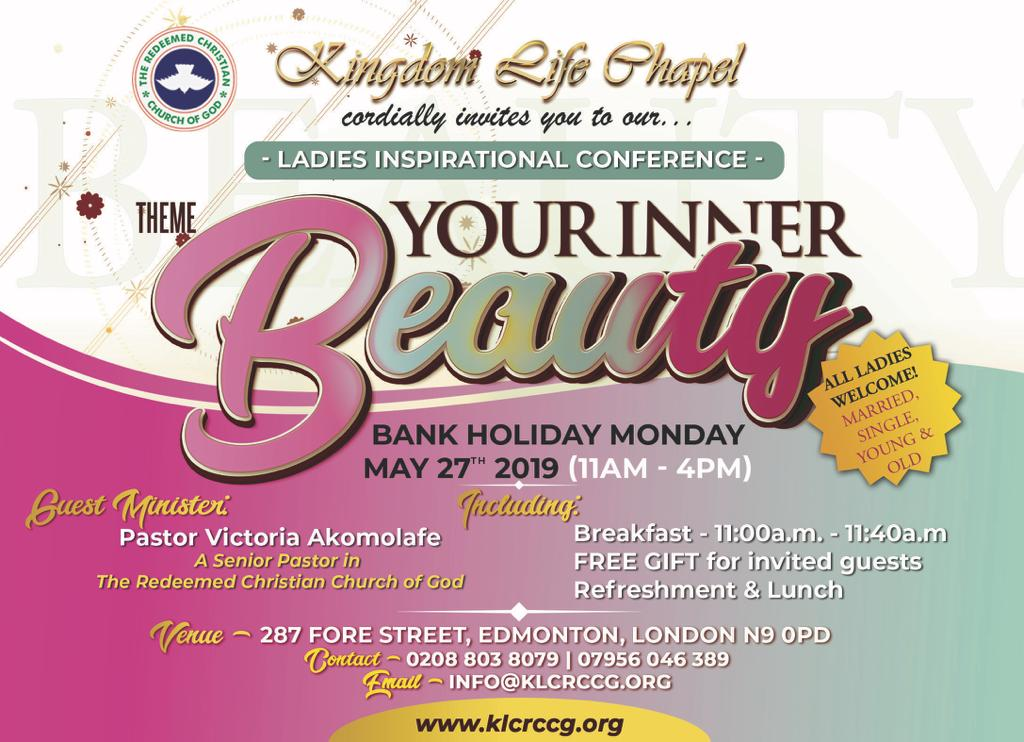 LADIES INSPIRATIONAL CONFERENCE 2019